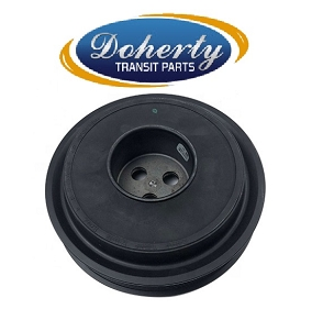 Ford transit crankshaft pulley to suit all 2.4 rear wheel drive vans from | 2006 - 2011 |With Air Con