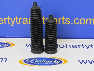 A pair of ford transit steering rack boots to suit all vans from [2000 - 2006]