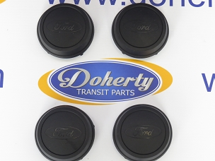 A set of genuine ford transit center caps to suit all vans from [2006 -2014]