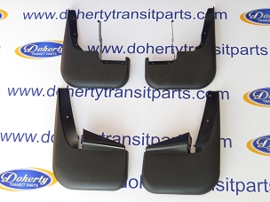A set of genuine ford transit mudflaps to suit all vans from | 2000 - 2006 |