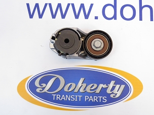 Ford transit power steering belt tensioner to suit front wheel drive vans from |2000-2006|Less AC