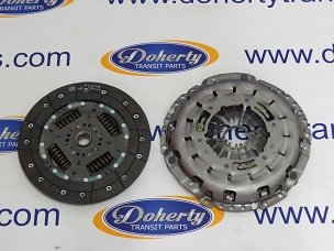 Genuine ford transit 2 piece clutch kit to suit all front wheel drive vans from[2000-2006]5 Speed