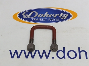Ford transit U bolt to suit to suit all rear wheel drive vans from | 2000 - 2006 | Two Leaf spring/Not Sided