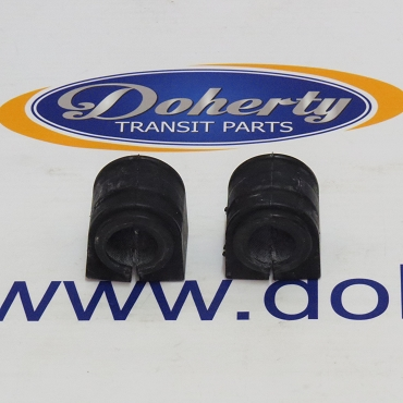 A pair of ford transit rear anti roll bar bushing to suit all vans from | 2014 - 2016 | Less Twin wheel