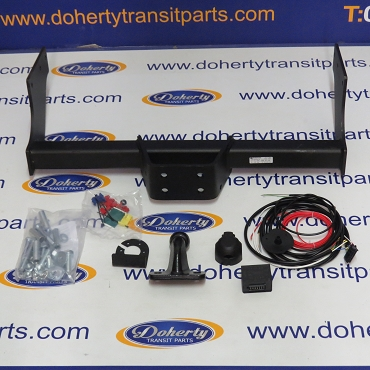 Ford transit towbar with wiring & bypass relay to suit all vans from [2006 - 2014]